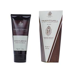 TRUEFITT&HILL SANDALWOOD SHAVING CREAM TUBE  Krem do golenia w tubie 75ML